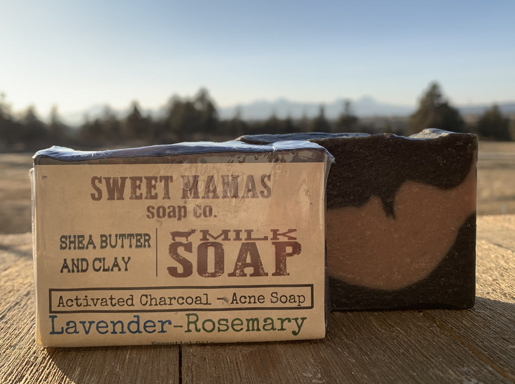 Lavender Rosemary - Charcoal Soap