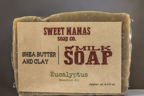 Eucalyptus-Spearmint with Ground Oatmeal
