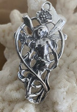 Rare Mermaid/Fairy Pendant; Art Nouveau style