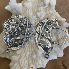Unbelievably beautiful Fairy/Mermaid sash buckle in sterling