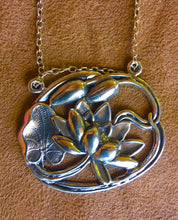 Lotus/Pond Lily Pendant Necklace