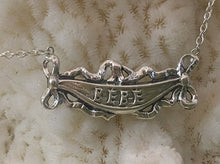 "Baby ""Bebe""  Charm  Necklace,  Art Nouveau reproduction"