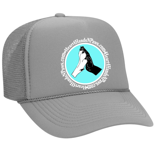 Trucker Cap-Fundraising for: Heart4HandsNPaws