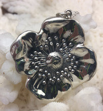 Beautiful Art Nouveau Reproduction Poppy Pendant Necklace from collectable pin Unger Bros/Kerr
