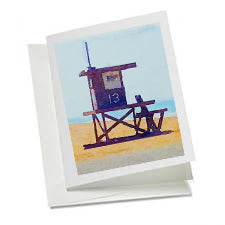6 Art Note Cards-Lifeguard Tower #13