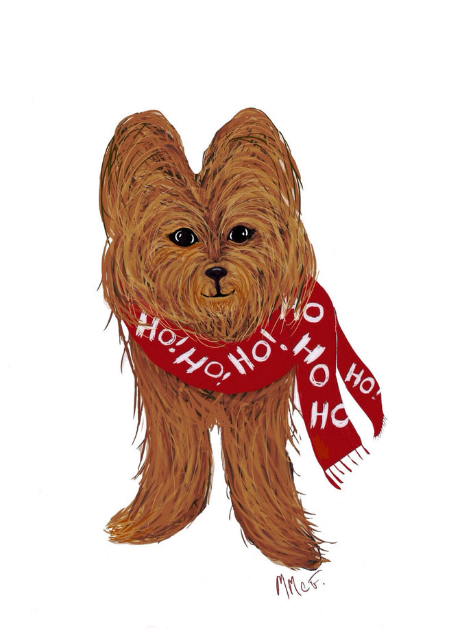 Holiday/Christmas Cards Yorkshire Terrier-Jewel's Holiday