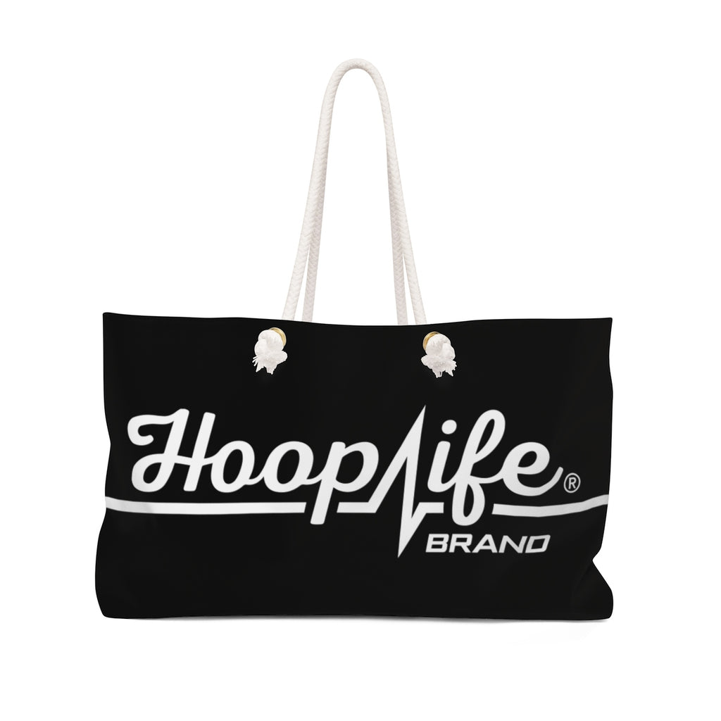 Hooplife® Logo Blcak Tote - Hooplife