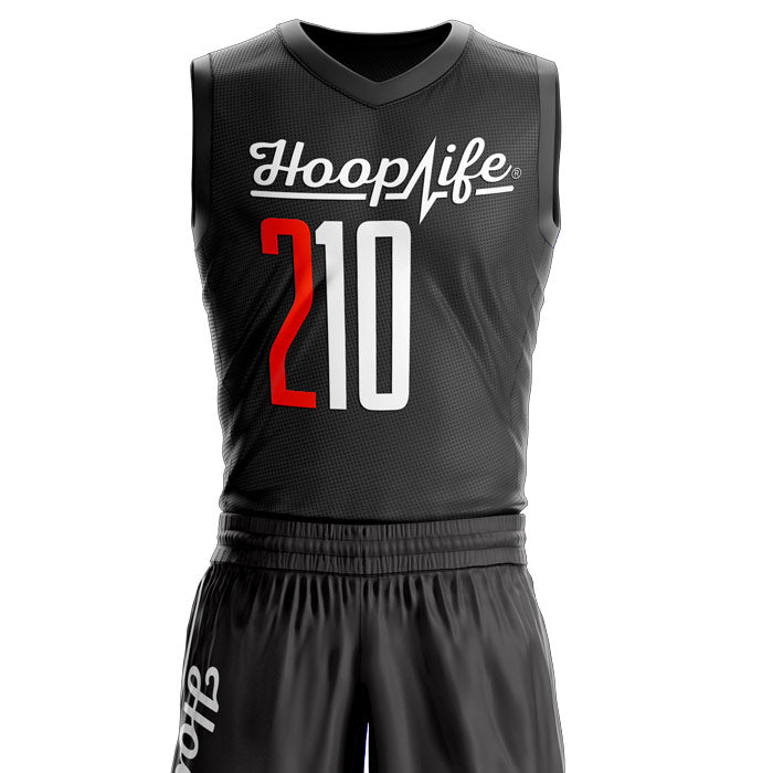 Hooplife® SC Team Uniforms (Black / Orange) 1