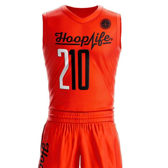 Hooplife® SC Team Uniforms (Orange / Black) 1