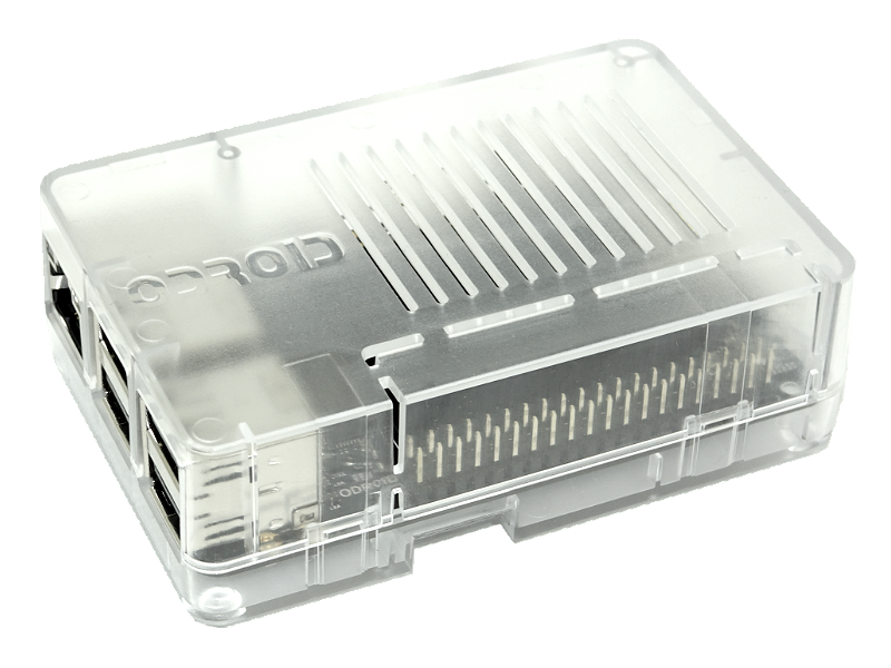 Semi Transparent ODroid-C2 Case