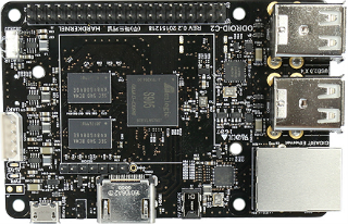 Introducing the<br />ODroid-C2