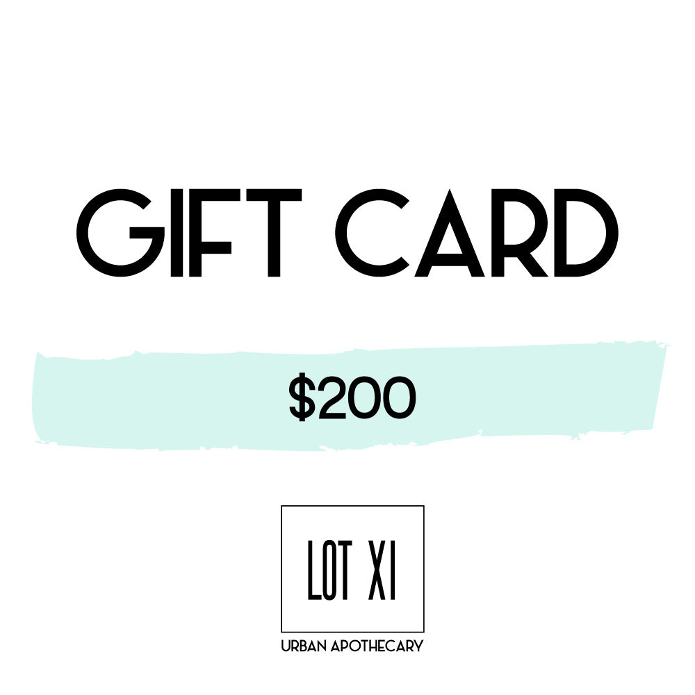 $200 LOT XI GIFT CARD