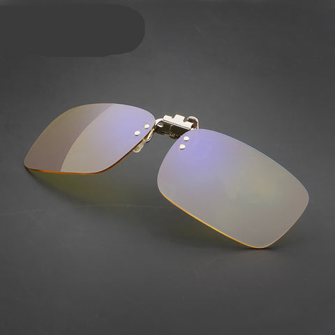 Anti-blue radiation anti-fatigue glasses