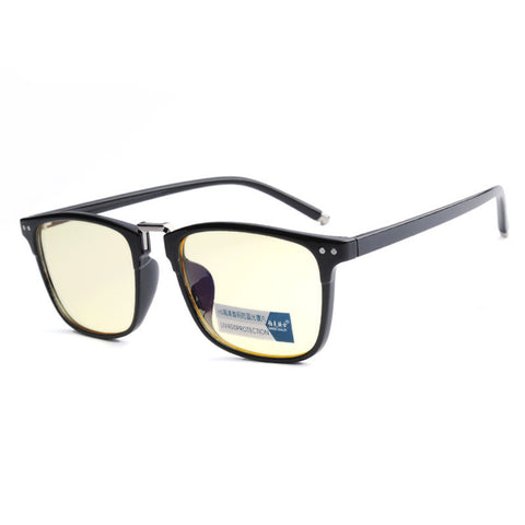 Radiation resistant glasses