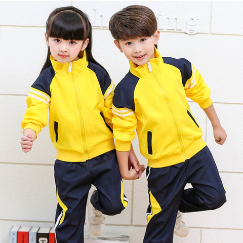 Children's autumn long sleeve suit