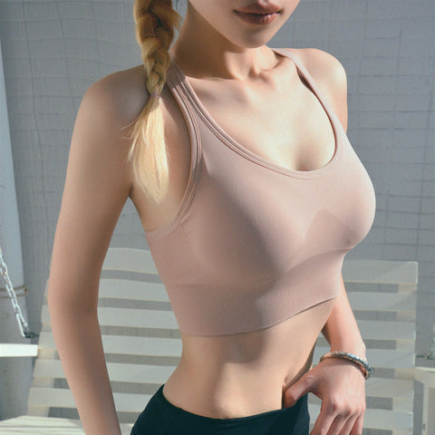 Women Sports Bra Female Fitness Gym Bra Hollow Breathable Top Sexy Running Yoga Bra Athletic Sportswear
