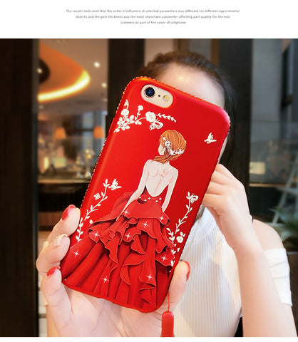 Back Goddess mobile phone case
