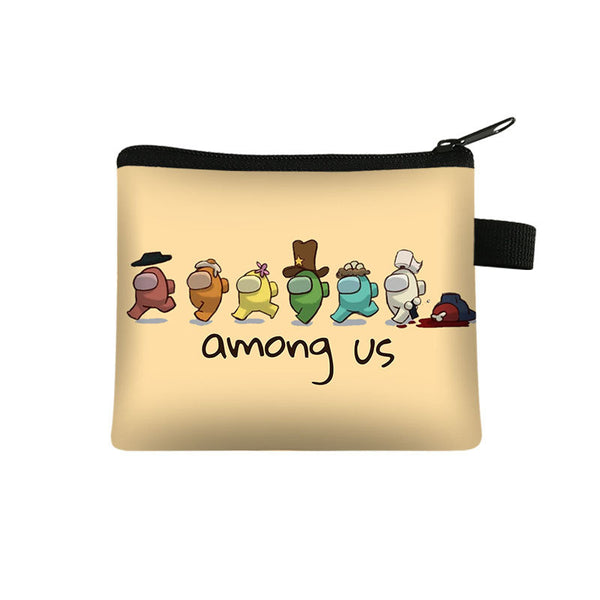 Coin Purse Student Men and Women Short Wallet Card Bag Coin Purse