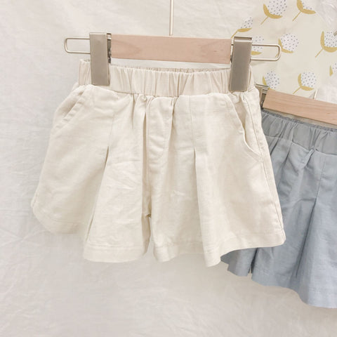 Casual Forest Cotton Shorts