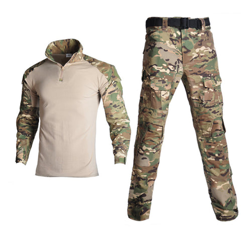 Black python pattern camouflage frog suit tactical suit