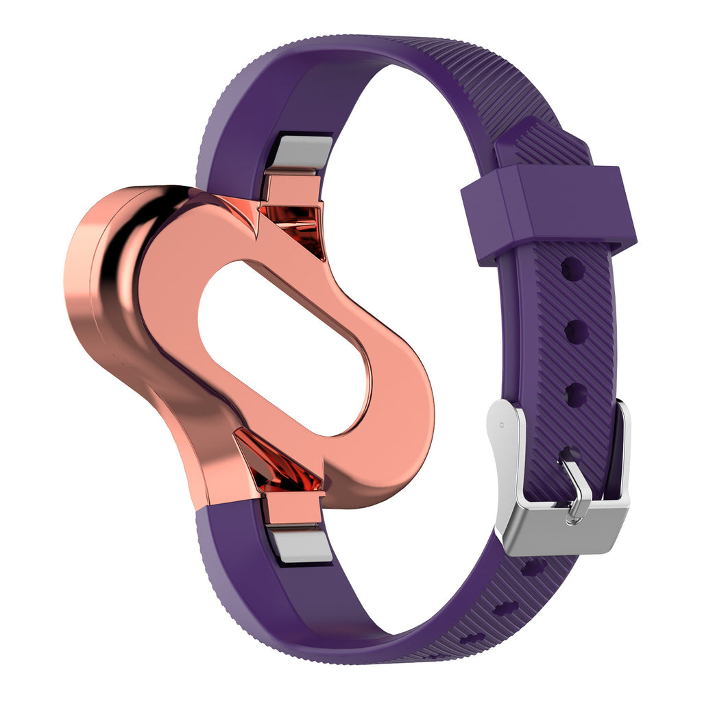 Fashion sports strap with metal frame