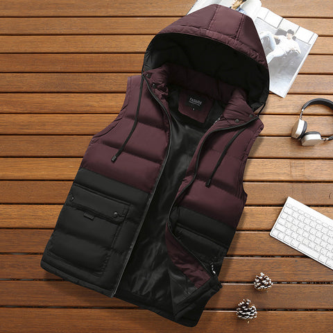 Men's casual cotton vest