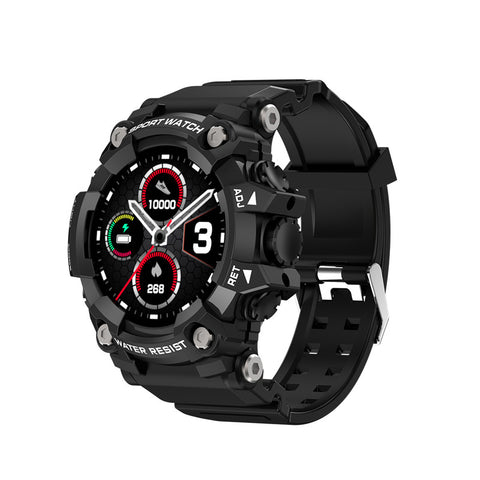 T6 Tactical Rugged Smart Watch Bracelet Waterproof 1.3 ""