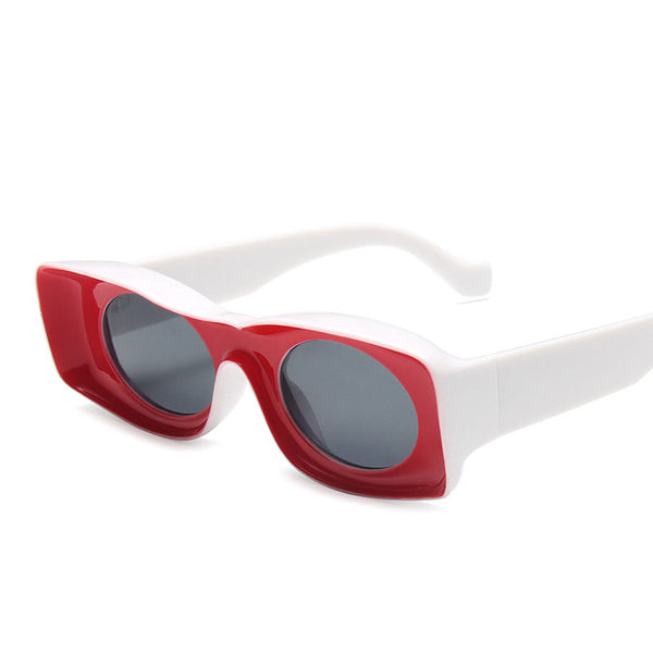 Thick concave sunglasses