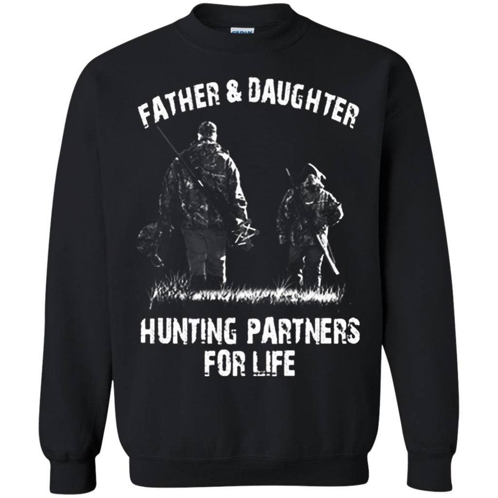 05885ec3 ... Father & Daughter -Hunting Partners For Life, Father T-shirt, Daughter  T ...