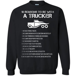 10 Reasons to Be with a Trucker Shirt  Trucker T Shirt