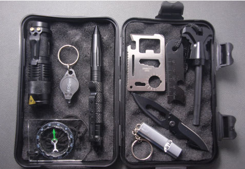 10 in 1 Professional Survival Field Kit - ZombieSurvivalStuff - 2