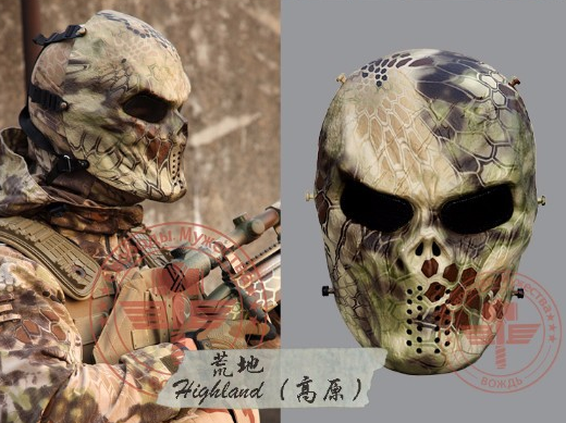 Typhoon Camouflage Ghost Masks