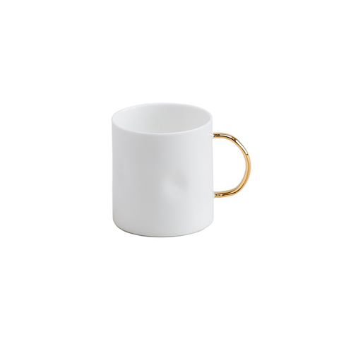 7oz Gold Coffee Mug