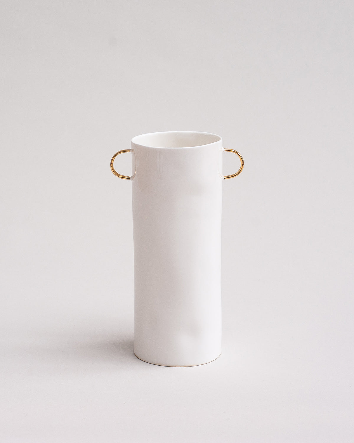 Gold Vase with Handles
