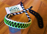 Bow Wrist Sling - Cobra with Microstitched Xs Weave