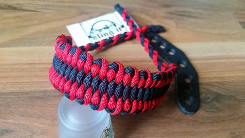 Bow Wrist Sling - Dragons Tongue Weave