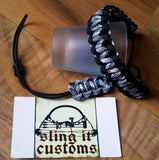 Wrist Lanyard for Thumb Release - Cobra Weave