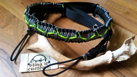 Adjustable Bow Shoulder Sling - Barbed Cobra Weave