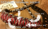 Bow Wrist Sling - Stitched Solomon Weave - SlingIt Customs - 7