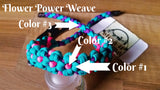 Bow Wrist Sling - Flower Power Weave
