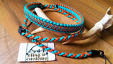 Binocular Lanyard - Cobra with Microstitched Xs Weave