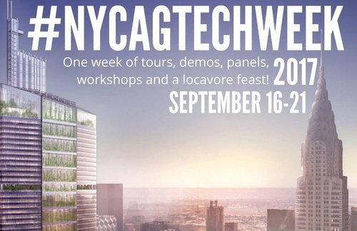 Join us for #NYCAGTECHWEEK2017