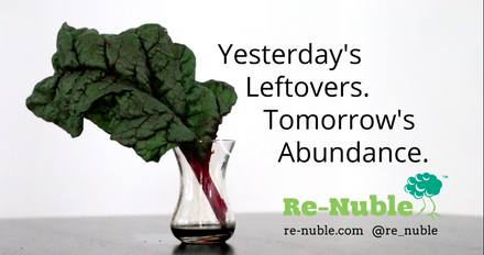Re-Nuble Food Waste Upcycled to Organic Hydroponic Nutrients, Fertilizers