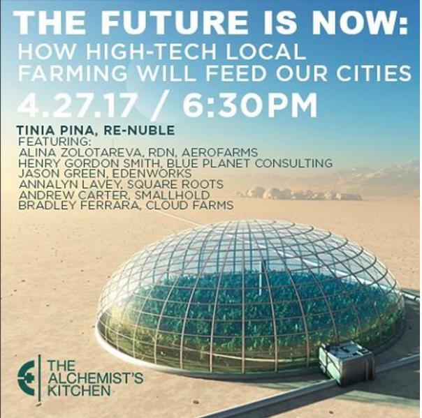 How High-Tech Local Farming Will Feed Our Cities Panel