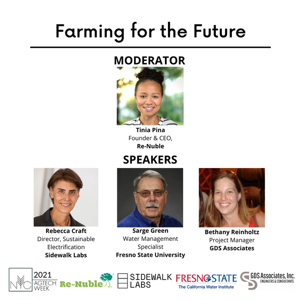 Farming for the future NYC Agtech Week 2021