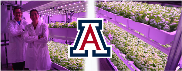 University of Arizona Indoor Farming Controlled Environment Agriculture Center