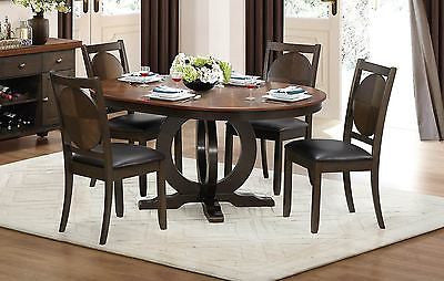 DURABLE & UNIQUE SPHERICAL DESIGN UV COATED TABLE & CHAIRS DINING FURNITURE SET