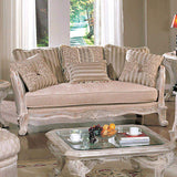 TRADITIONAL LUXURIOUS 3 PC SOFA COUCH LOVESEAT & CHAIR LIVING ROOM FURNITURE SET