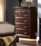 BEAUTIFUL DARK BROWN BONDED LEATHER QUEEN STORAGE BED BEDROOM FURNITURE