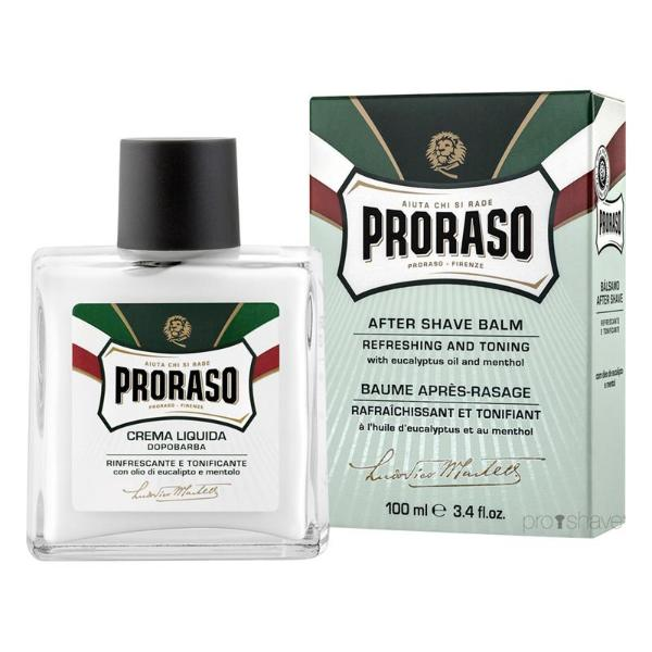 Proraso Aftershave Balm, Eucalyptus & Menthol, 100 ml. (Refreshing)